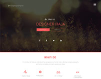 Simple & Creative Web site UI