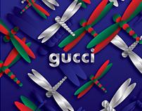 Gucci Dragonflies