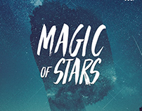 Magic of Stars - Free PSD Flyer Template