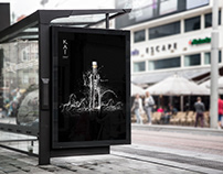 Kai Vodka print (personal project)
