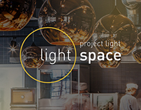 Light space landing page