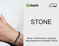 Stone eCommerce Jewellery shop Responsive Shopify Theme