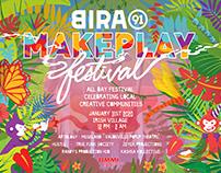 Bira91 MakePlay Festival Poster design