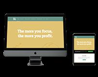 WordPress website - internship assignment