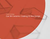 Ceramic Coating Box Design