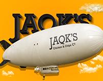 JAQK'S Fast Food Branding & Layout Design