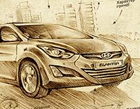 Prints for Hyundai Ukraine