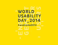 World Usability Day - Interactive Installation