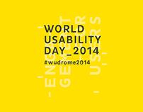 World Usability Day - Interactive Installation