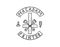 Logo / Macadam Printer