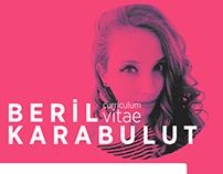 Beril Karabulut Curriculum Vitae