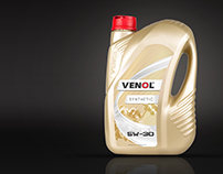 Venol / oil label redesign