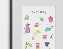 The Art of Tea (free printable)