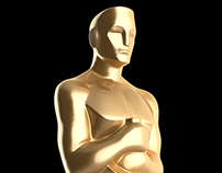 3D Oscar Statue for Photoshop