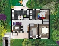Floor plans | Plantas humanizadas
