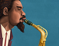 Out To Lunch Eric Dolphy portrait
