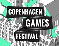 Copenhagen Games Festival | Visual Identity