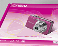 Casio Exilim Camera Packaging