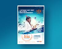Flyer Offre Internet VIP Net (Proposition Rejetée)