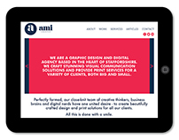 AMI Website Redesign