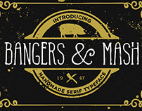 Free* Bangers and Mash font (Demo)