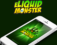 Eliquid Monster App Design for iOS