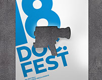 Poster for Thessaloniki's 18th Documentary Festival