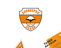 Adanaspor Corporate Identity Design