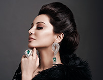 Minissha Lamba for La Solitaire Jewels