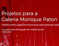 Outros projetos Galeria Monique Paton