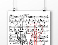 Плакат для XXVIII музыкального фестиваля Соллертинского