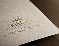 Logo design forWulcan Ltd (fireplacebuilding company)