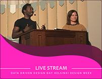 Data Driven Design Day - Helsinki Design Week
