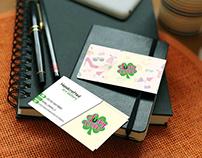 lucky -business card