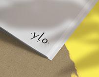 Ylo - Brand identity