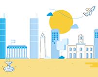 Buenos Aires – Free icon set
