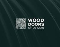 Wooddoors. Branding, Web site