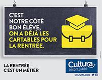 Cultura - Rentrée des classes 2015