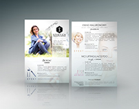 PRINT COLLATERAL / Aesthetic Medicine Clinic