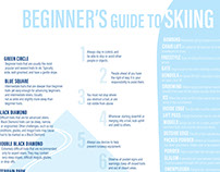 Beginner's Guide to Skiing Infographic