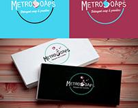 Metro Soaps Logo Design