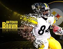 #84 Antonio Brown | Steelers WR