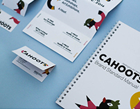 Cahoots — Wellington Art Week — Event Identity Design