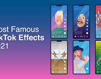 Most Famous Tik Tok Effect • Vector Collection