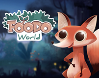 Foodo World - character animation for app