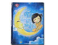 The Moon is my Friend - Pop up Book