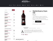 Shop Single Product Page - Wine WordPress Theme