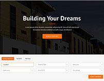 Dream Home Real Estate WordPress Theme