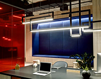 Showroom and office furniture by ZOOI interior studio