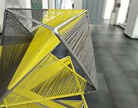 Textiles as structural & decorative element of furnitur